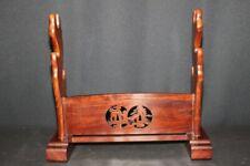 (AB-55) SUKASHI Carving KATANA-KAKE of KATANA