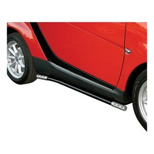 SMART CAR 450 BLACK POWDER COAT SIDE RAILS 1999-2007