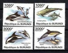 Burundi 2011 dauphins n° 1205 à 1208 neuf ** 1er choix
