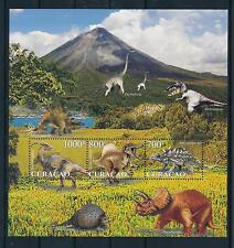 [CU038] Curacao 2011 Prehistoric Animals Dinosaurs Souvenir Sheet MNH