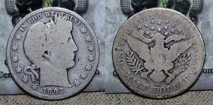1892 O Barber Half Dollar 50c Key Date !!