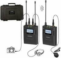 Comica CVM-WM300(C) Wireless Lavalier Microphone System for DSLR UHF (1TX+1RX)