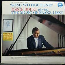 JORGE BOLET liszt song without end LP Mint- SDBR 3062 Vinyl 1960 Record