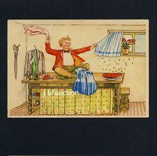 Märchen Fairy-Tale TAPFERE SCHNEIDERLEIN / VALIANT LITTLE TAYLOR * Vintage PC/AK