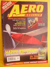 AEROMODELLER AUGUST 1995  MIKE BEACH CHRIS HOLFORD PHIL SMITH MODEL AIRCRAFT