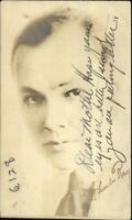 Actor Charles Ray 1921 Used Real Photo Postcard