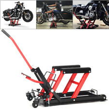 Motorcycle Motorbike Quad Dirt ATV Jack Lift Tool Hoist 1500LB Hydraulic Lifter