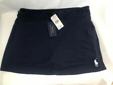Polo Ralph Lauren Genuine Ladies Tennis Skirt NetBall Girl Shorts Large Navy