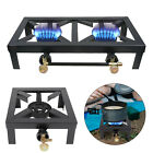 Portable Camping Stove Propane Gas LPG Cooker Cast Iron Burner Outdoor BBQ Grill photo