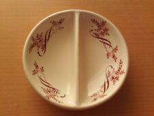 Vintage Ashworth Bros Ironstone Two Sided Dish ~ Pink Design.
