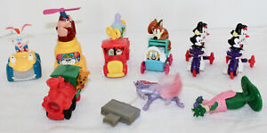 McDonald's Disneyland Animaniacs Dinosaurs Littlest Pet Shop Happy Meal Toys Lot