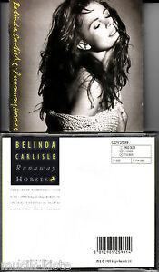 BELINDA CARLISLE - Runnaway Horses 💿 CD Album, Austria