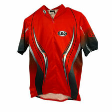 Louis Garneau Half Zip men's Short Sleeve Cycling Jersey Large