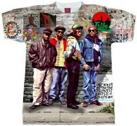 A Tribe Called Quest T-shirt. Available in Men's, Ladies and Youth sizes Hip Hop