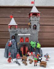 Playmobil 3269 - schwarze Drachenburg - Ritterfestung - Drachenfestung gebraucht