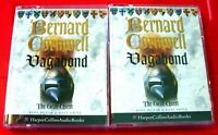 Bernard Cornwell Vagabond The Grail Quest 4-Tape Audio Book Tim Pigott-Smith