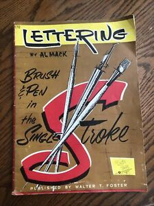 Lettering  By Al Mack Published By  Walter T. Foster