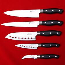 5 Pcs Knife Set Chef Knives Kitchen Cook Cutlery Fruit Slice Sashimi Sushi Japan