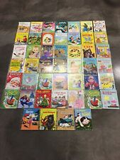 Vintage Lot Of 46 Golden Books Disney Barbie Sesame St 50s 60s 70s 80s 90s Rare!