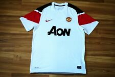 SIZE M MANCHESTER UNITED FOOTBALL SHIRT JERSEY NIKE 2010-2011 AWAY ADULT MEDIUM