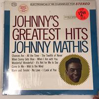 Johnny Mathis Greatest Hits LP Vinyl Record 1962 Original Sealed Mint CS 8634