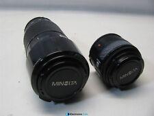 Minolta Lens Bundle AF Lens 70-120mm and AF Lens 28mm