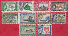 Gilbert & Ellice Islands 1939 Part set sg 43-51, 54 MH very light