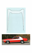 Starsky and Hutch Torino Stripe 1/64 scale decal  Autoworld Tyco AFX Lifelike