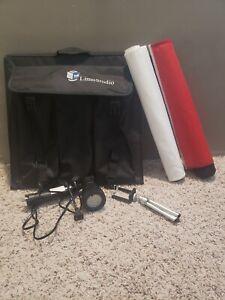 Limostudio Lighting Kit for Product Photography w/ Backdrops & Lights