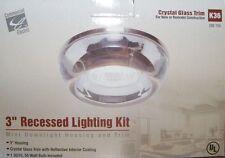 "Commercial Electric (K36) Mini Downlight Housing & Trim 3"" Recessed Lighting Kit"