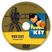 The key 1934 Classic DVD Film William Powell - Drama, Film Noir