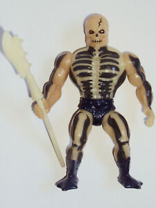 vintage SCARE GLOW damaged MASTERS of the UNIVERSE mattel 1987 figure MOTU staff