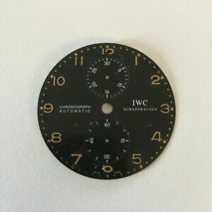 IWC Portugieser Chronograph Automatik Zifferblatt Dial #3714 Ø 34,5 mm Y45