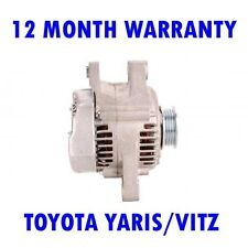 TOYOTA YARIS/VITZ 1.0 16V HATCHBACK 1999 2000 2001 - 2005 ALTERNATOR