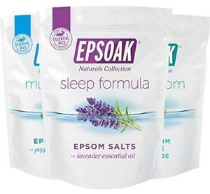 Ultimate Epsoak Epsom Salt Bath Soak Bundle (6 lbs. Total) – Sleep Formula