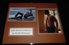 Joe Manganiello Signed Framed 16x20 Shirtless Photo Display JSA True Blood