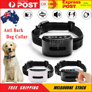 Anti Bark Dog Training Collar Sound Vibrate Automatic Stop Barking Rechargeable