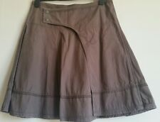 Fat Face Mountain Beach Ocean Land skirt size 12 brown