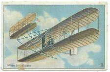 AIRCRAFT - WRIGHT BROTHERS BIPLANE  Raphael Tuck Embossed Postcard