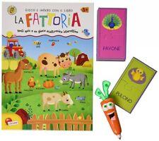 Gioco Libro Interattivo Elettronico La Fattoria Impara a Leggere Scrivere Quiz