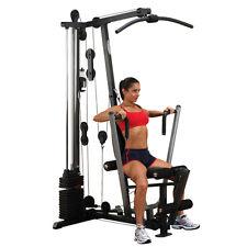 Body-Solid® Ganzkörpertrainer mit 72 kg Steckgewichtspaket Kraftstation NEU