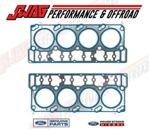 6.0L Powerstroke Genuine Ford OEM Pair of 18MM Head Gaskets - Gaskets ONLY