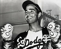 1965 Los Angeles Dodgers SANDY KOUFAX Glossy 8x10 Photo '4 No Hitters' Poster