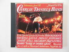 "CHARLIE DANIELS BAND ""Volunteer Jam VII"" 1981 Epic/Legacy - CD"