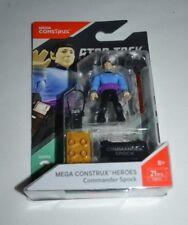 MEGA CONSTRUX COMMANDER SPOCK STAR TREK SERIES 2