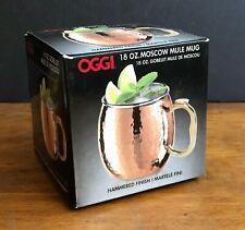New listing New Oggi Moscow Mule Copper Plated Mug Hammer Finish 18 oz C180