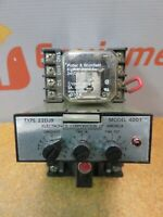 Electronics Corporation 4001 Photoswitch 22DJ9 Potter & Brumfield Relay 24 VDC