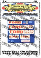 FORD 3000 SUPER DEXTA DECALS