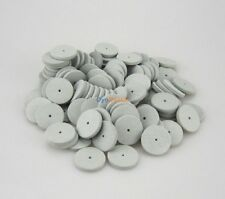 100PCS Silicone Rubber Polishing Wheels for Dental Jewelry Rotary Tools