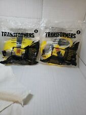 VINTAGE HALLOWEEN COSTUME HASBRO TRANSFORMERS MASK MCDONALDS  SET 2 NEW IN PKG
